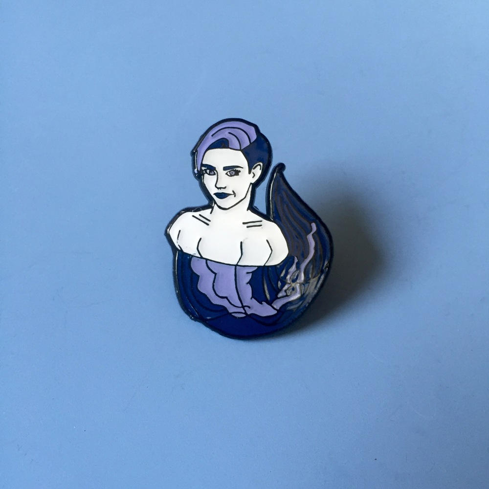 Miley Jellyfish Pin
