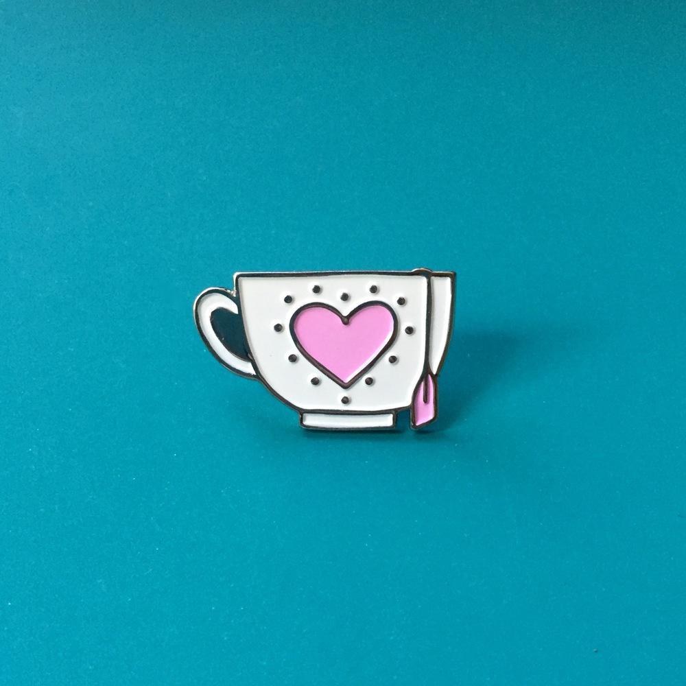 Teacup Pin