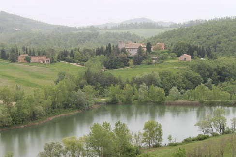 Abbazia di Spineto near Sarteano Tuscany