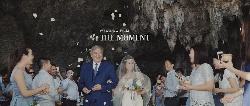 Wedding Film -- The Moment --