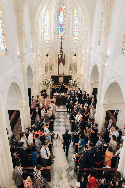 Sally & Kerby - Church Ceremony