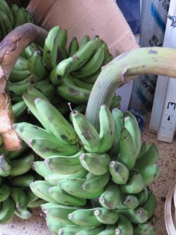 Uganda fabric market bananas