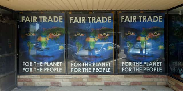 Fair trade is good for everything involved, people, planet, and profits Image by  Kevin Dooley   CC license