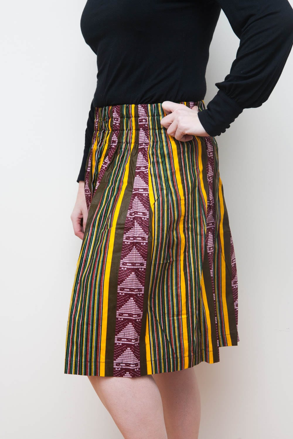 tribal print skirt Mazuri Designs