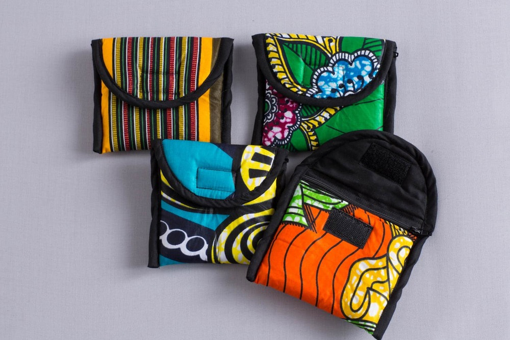 dutch wax print wallets
