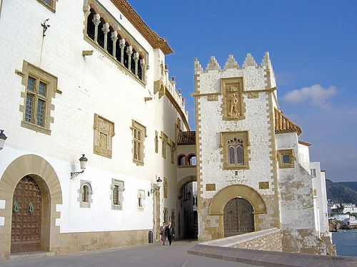 Buildings of Sitges
