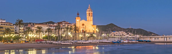Sitges by night