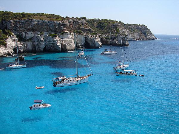 Menorca mooring