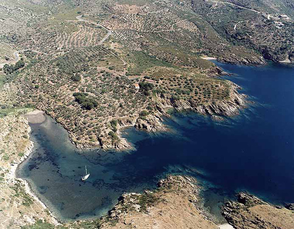 Birds eye Menorca