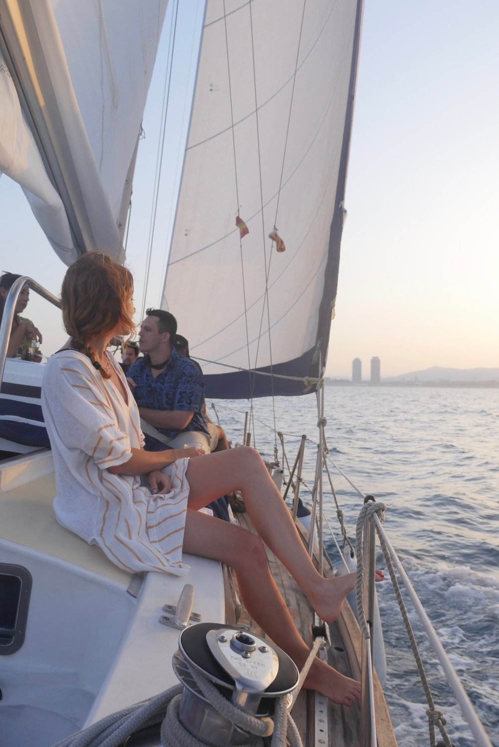 enjoying a sunset sail barcelona.jpg