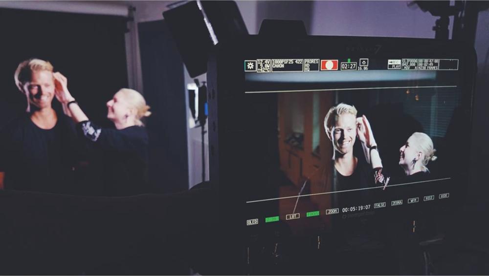 Ulvang Studio Fashion Film Revers Produksjon Atomos Ninja Flame MuA: Kristina Kvam Modell: Eilev Bjerkerud Foto:Silje Kleven Regi: Solveig Bakken