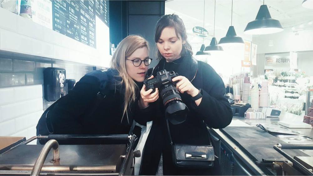 Johanna Pyykkö Solveig Bakken foto: Silje Kleven location scouting