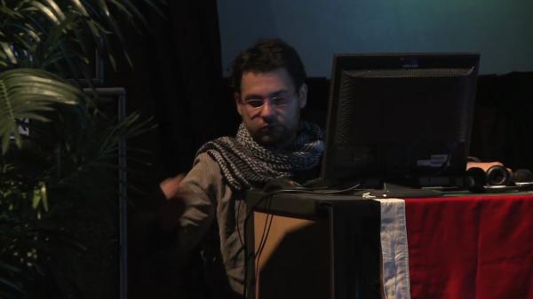 Ahmed Tarek Bahgat Abaza كلسلي أباظة Kelsely Abaza concert new zealand 2011 Auckland musem 45.png