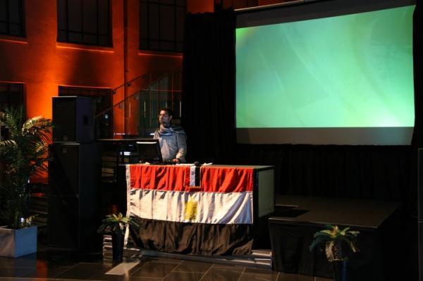full2 Ahmed Tarek Bahgat Abaza كلسلي أباظة Kelsely Abaza concert new zealand 2011 Auckland musem.jpg