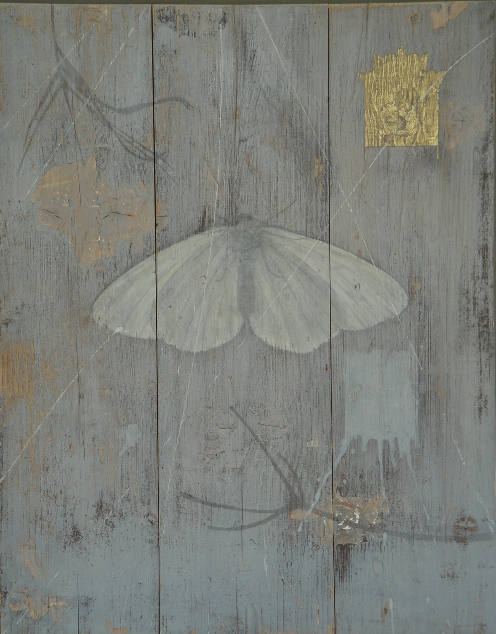 Delusion - egg tempera on wooden panel 60cmx75cm SOLD