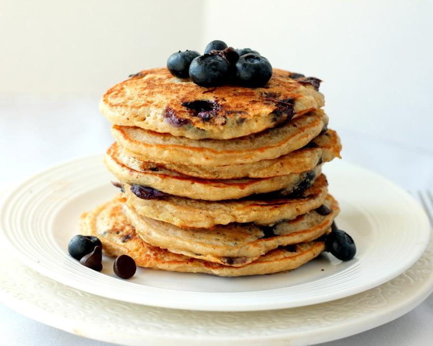 Quinoa Blueberry Pancakes - Servings - 2 (4 pancakes per serving)