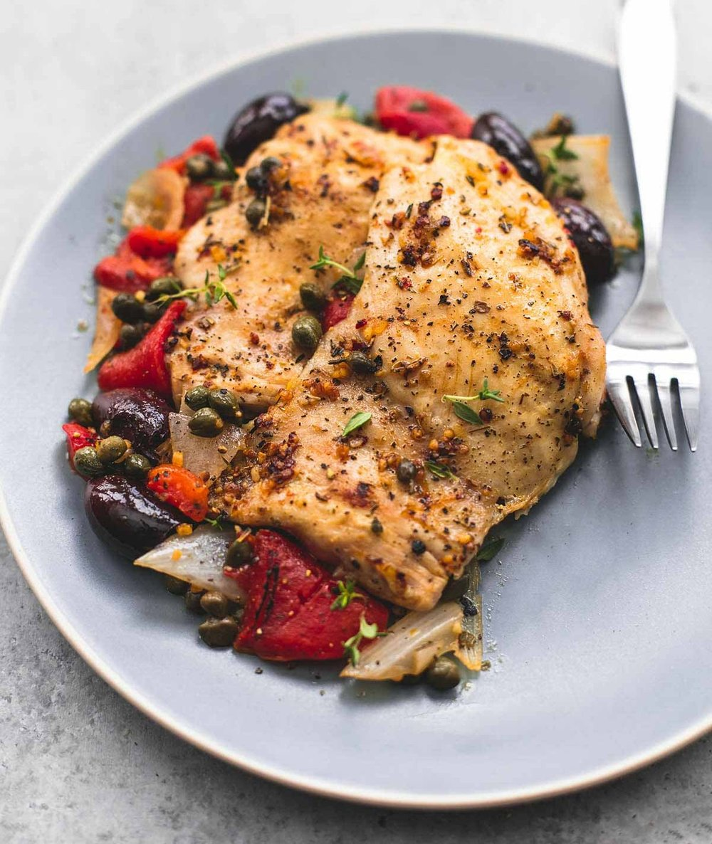 Mediterranean Chicken - Cook Time - 2-4 hours6 Servings