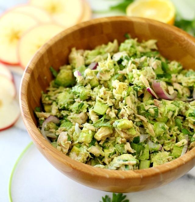 Avocado Tuna Salad - Prep Time - 10 minutes1 Serving