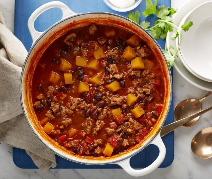 Butternut Squash & Four Bean Chili - 6 Servings