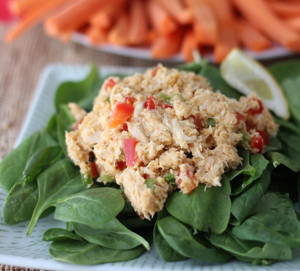 Chicken & Hummus Salad - 4 Servings