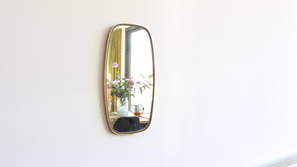 Vintage Spiegel Goud : Vintage spiegel u thuistekoop