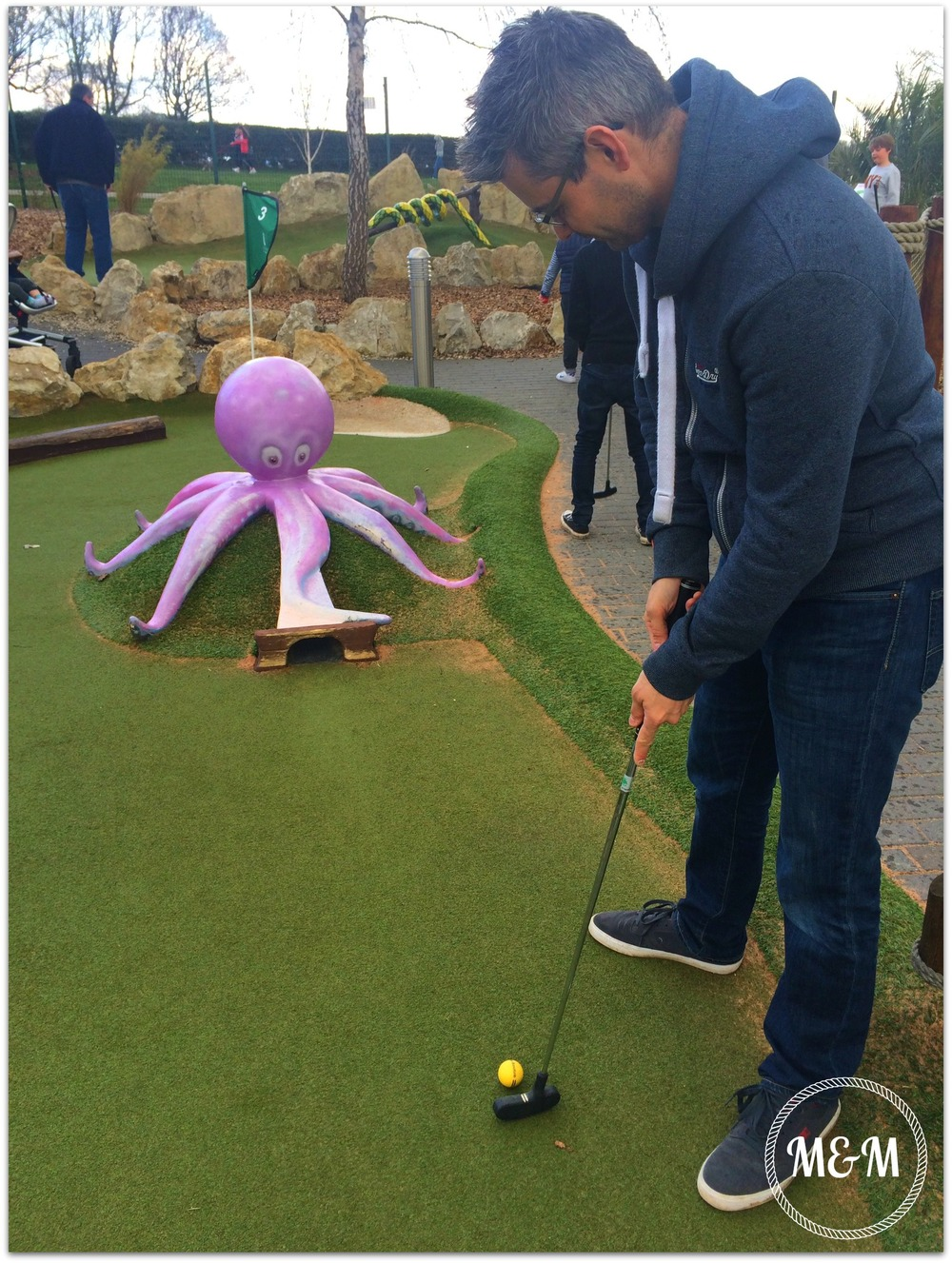 Crazy Golf, Family, Day Out, Brentwood, Essex, Rascal Bay
