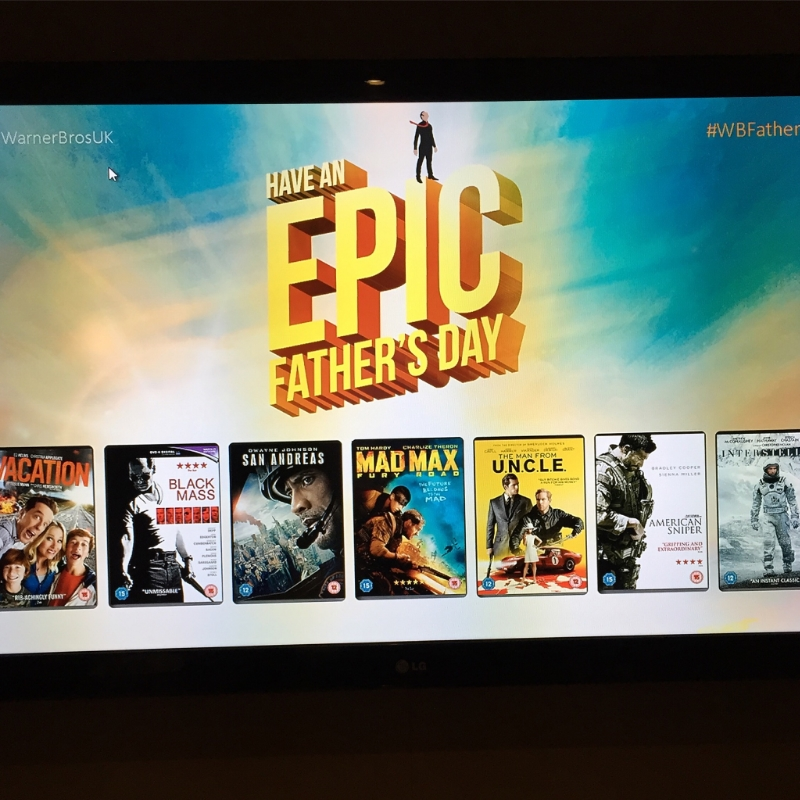 Warner Bros, Father's Day, Epic Father's Day, Creed, Dad, Father, Parent, Parenting, Family