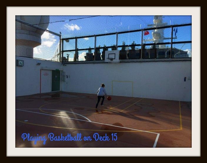 Basketball, Kids Club, Fun Factory, X-Club, Celebrity Cruises, Celebrity Eclipse, Cruise Ship, Cruise, Family Cruise, Weekend Cruise, Cruising With Kids