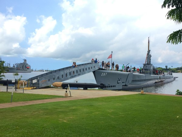 USS Bowfin, Submarine, Pearl Harbor, Hawaii, Oahu,