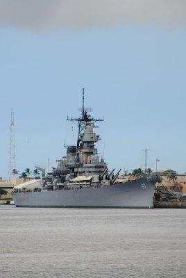 Battleship Missouri, Pearl Harbor, Oahu, Hawaii