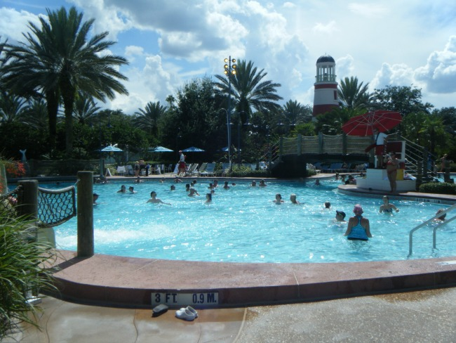 Disney's Old Key West Resort Swimming Pool, Lighthouse, Walt Disney World, Orlando, Florida, Disney Resort
