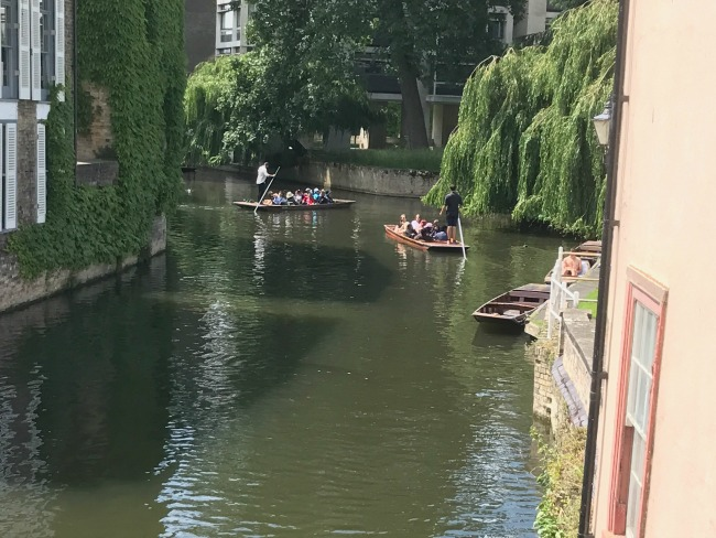Punting, River Cam, Cambridge, Day Out, Day Trip