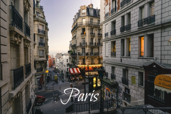 Paris, City Break, Eiffel Tower, Montmartre, Metro