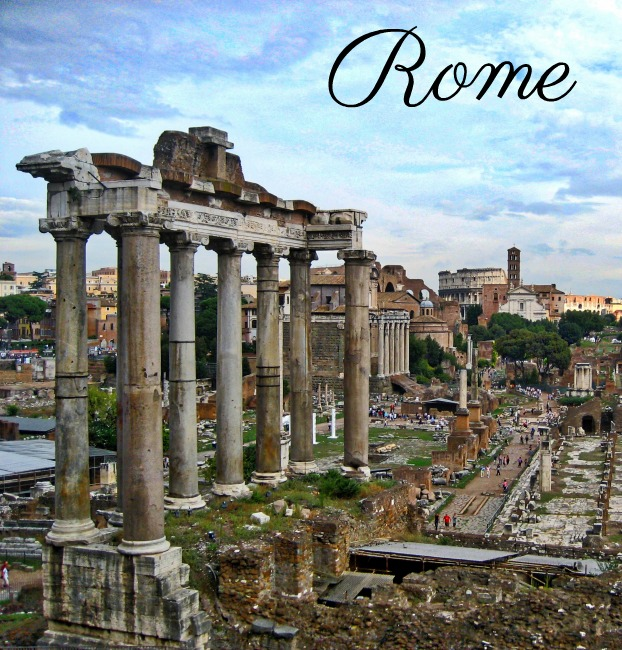 Rome, The Forum, Colosseum, Trevi Fountain, Pantheon, City Break