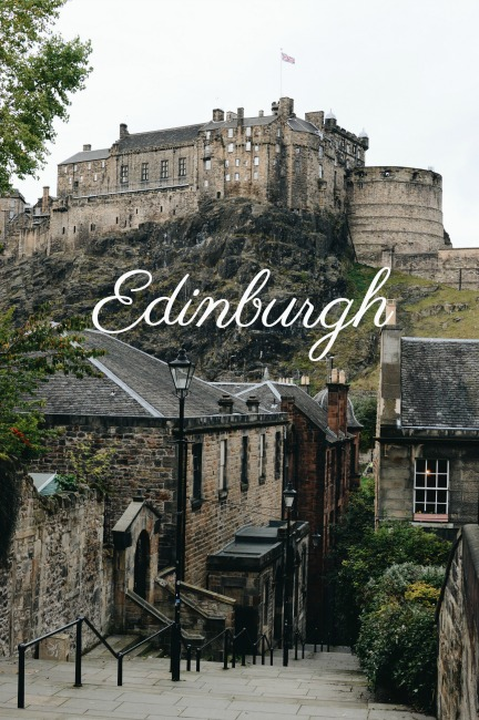 Edinburgh, Arthur's Seat, Holyroodhouse, City Break