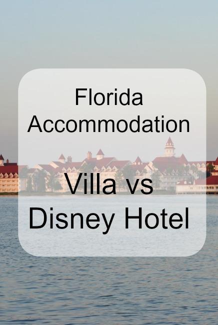 Villa vs Disney Hotel