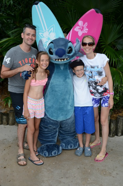 Stitch Typhoon Lagoon Character Meet and Greet Waterpark Orlando Florida Walt Disney World