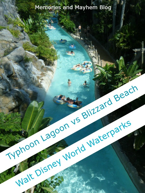 Typhoon Lagoon Blizzard Beach Disney Waterparks Walt Disney World Orlando Florida Family Fun