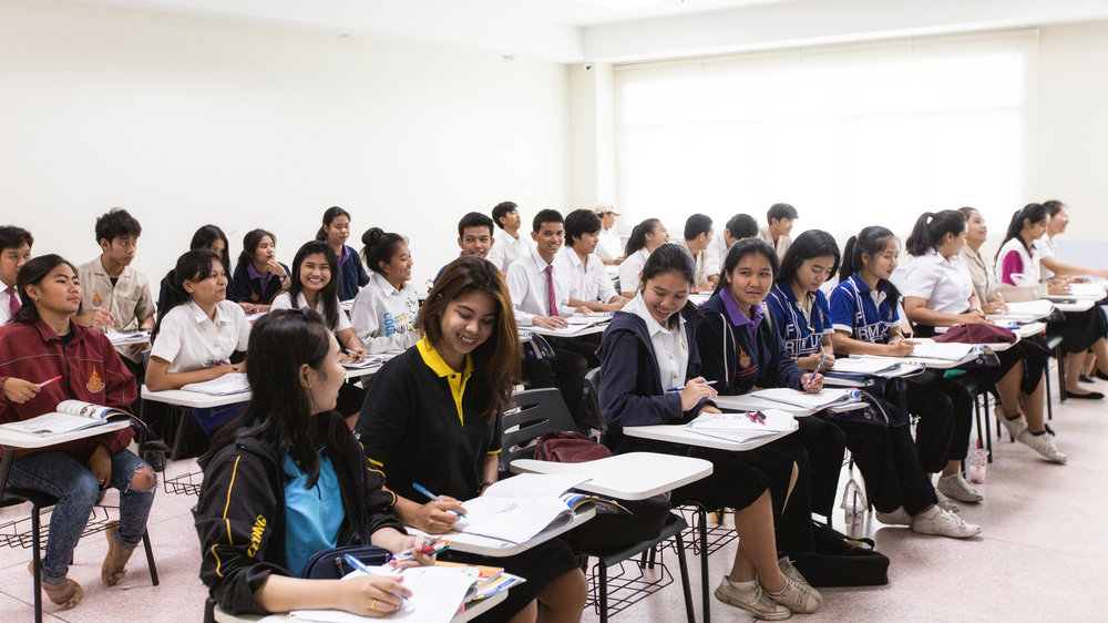 Students in the Rajamangala University of Technology Thanyaburi learn practical skills sought after by industries that make them employable.