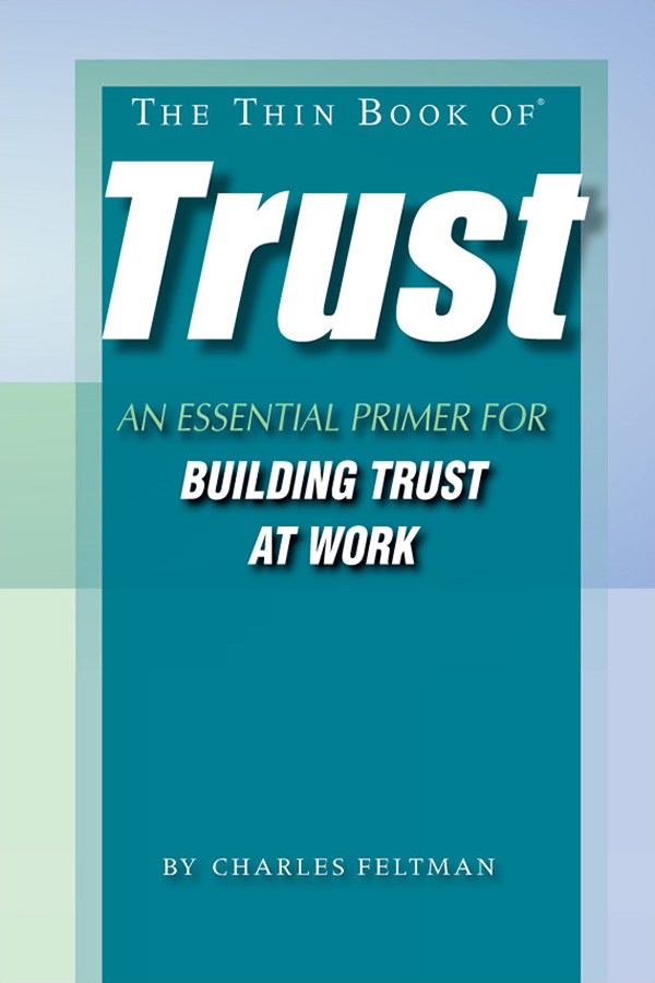 The Thin Book of Trust -