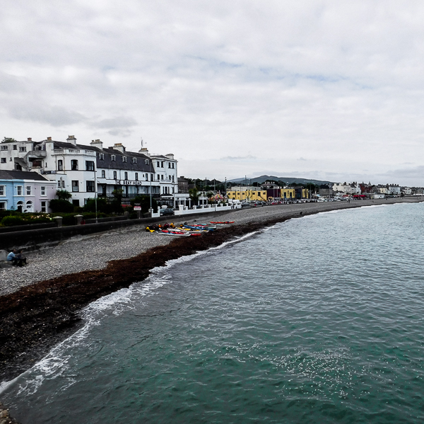 Bray, a Seaside Town South of Dublin, Ireland