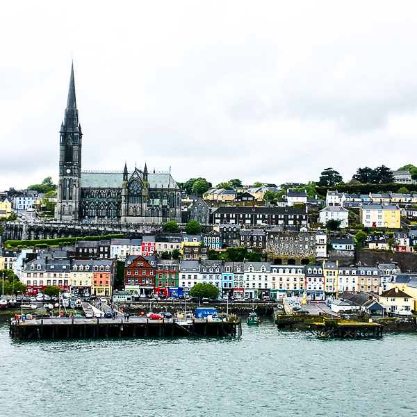 Cobh in Southwest Ireland