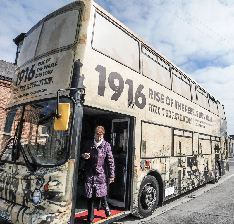 Rise of The Rebels Bus Tour, Dublin