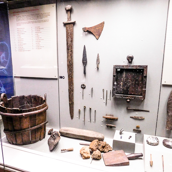 Vestiges Vikings, Musée Irlandais d'Archéologie