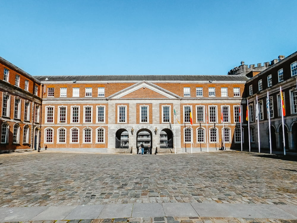 Dublin Castle, a beautiful castle to visit in Dublin, Ireland
