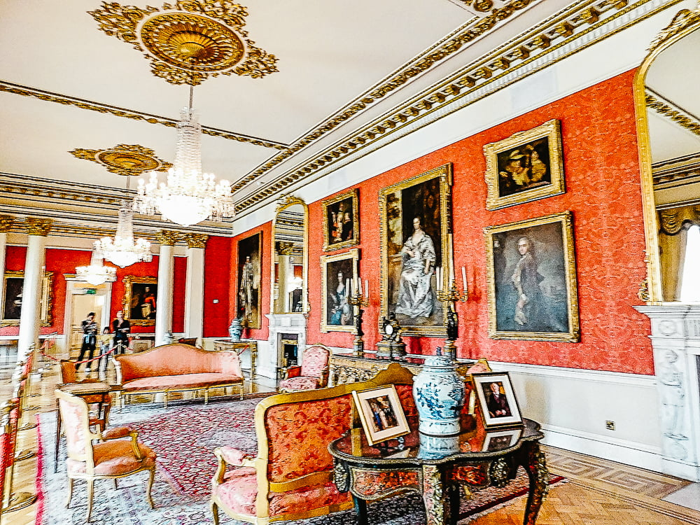 The exquisite Drawing Room in Dublin Castle, a great castle to visit in Dublin, Ireland