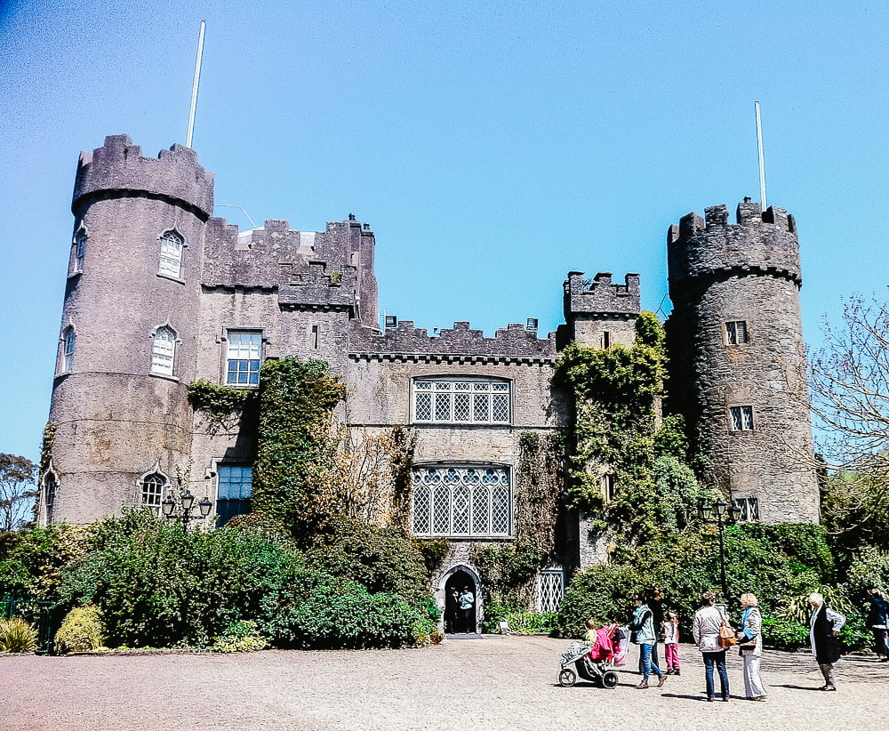 Malahide Castle, a fascinating castle near Dublin, Ireland