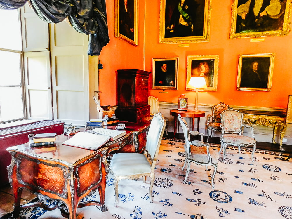 Drawing Room in Malahide Castle, 800 years of family history to discover in this castle, one of the most beautiful near Dublin, Ireland