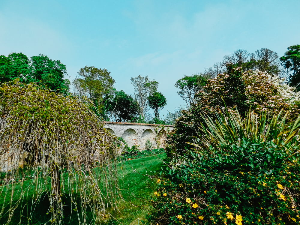 Ardgillan Castle has a a beautiful Walled Garden to visit, a castle found near Dublin, Ireland