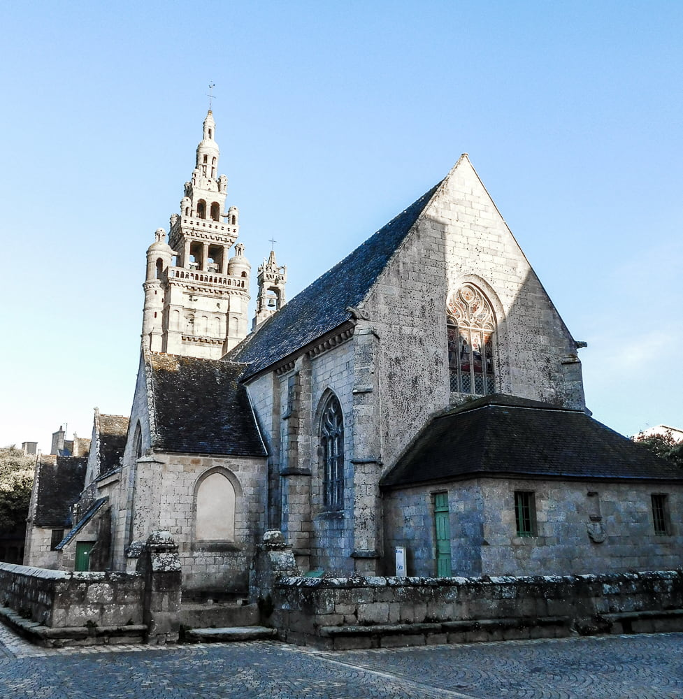 Our Lady of Croaz-Batz, point of interest in Roscoff, Brittany